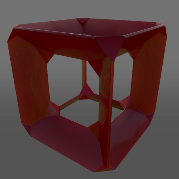 Tesseract Style Cube