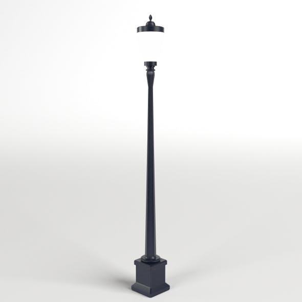 Vintage Street Lamp - 3DOcean Item for Sale