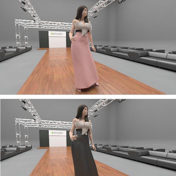 3d Dress Mockup