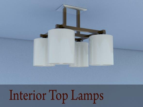 Interior Top Lamps - 3DOcean Item for Sale
