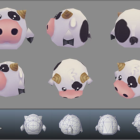 3D Animal Models from 3DOcean
