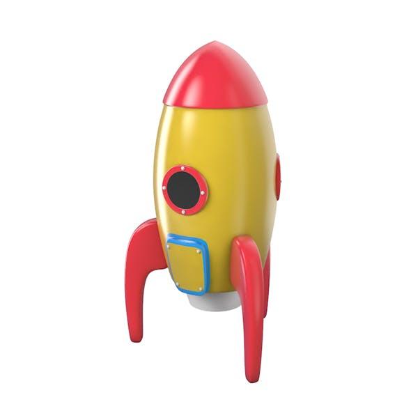 C4d Rocket Toy