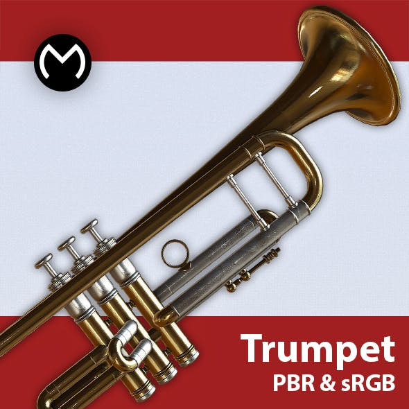 Trumpet - Real Time PBR
