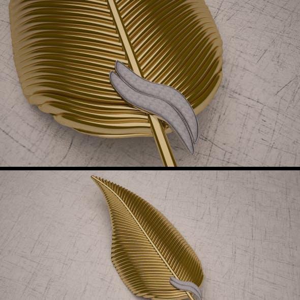 3d Gold Leaf