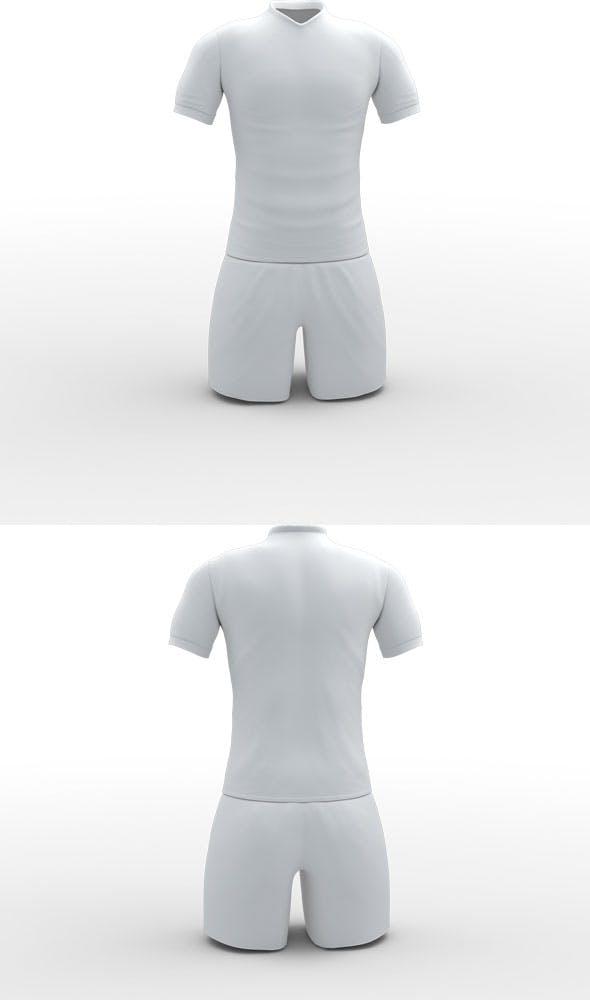 Player Tshirt Model - 3DOcean Item for Sale