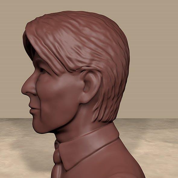 David Bowie 3D head model