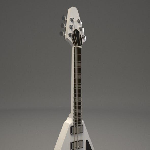 Flying V Electro Guitar