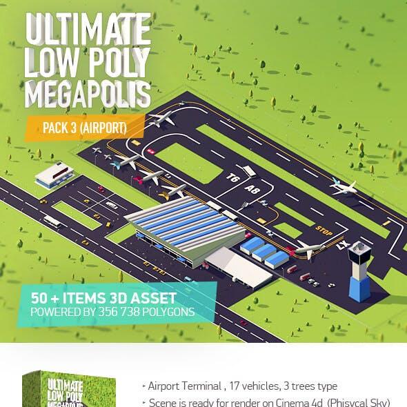 Ultimate Megapolis Pack 3 (Airport)