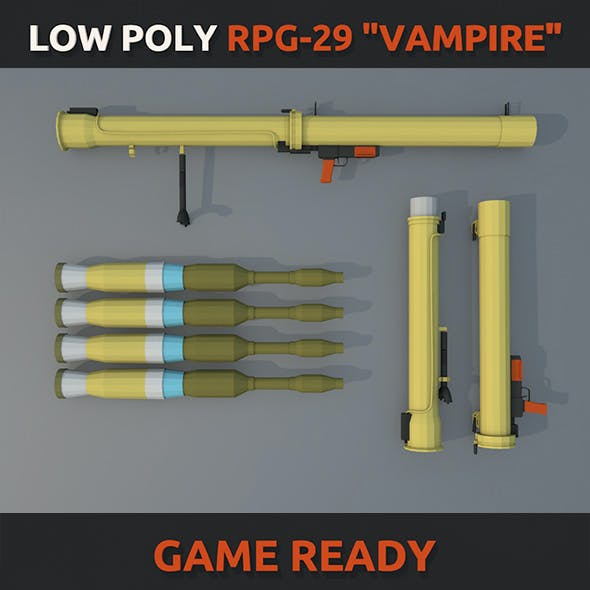 "Low Poly RPG-29 ""Vampire"""