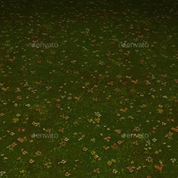 ground grass tile 6