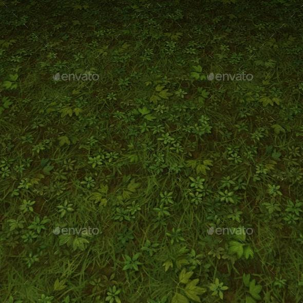 ground grass tile 8