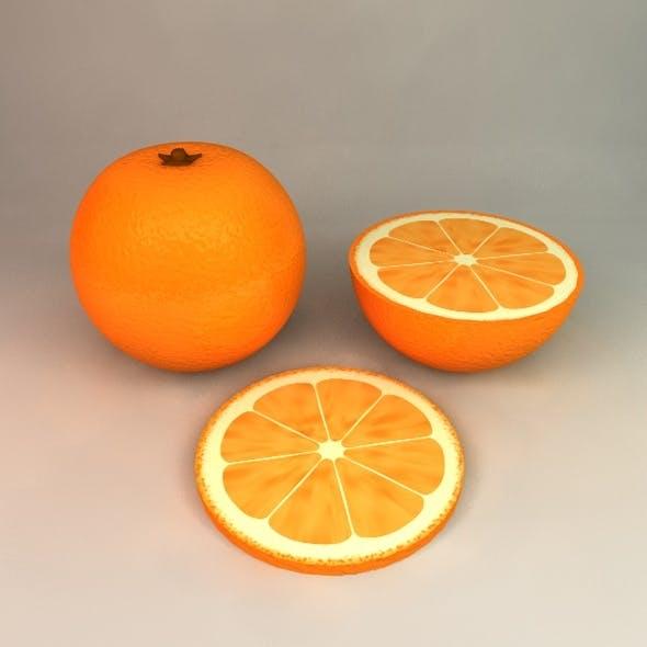 Orange - 3DOcean Item for Sale