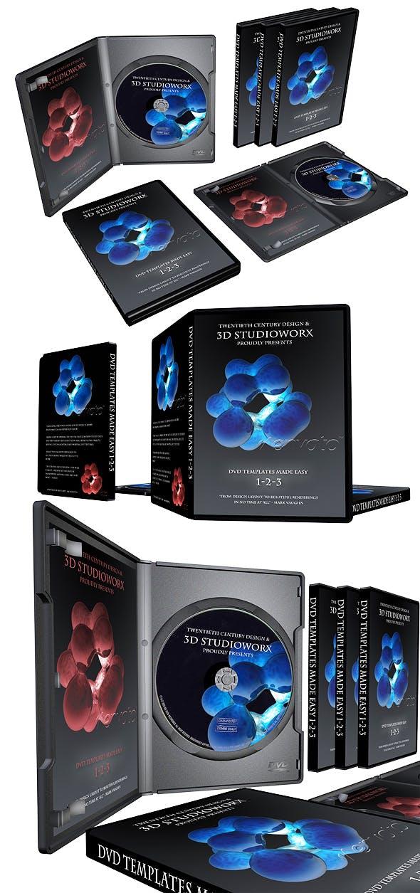 DVD cases - 3DOcean Item for Sale