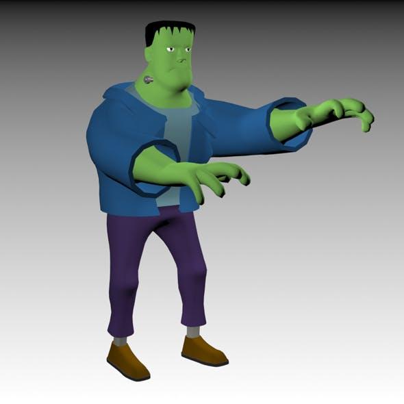 Funny Frankenstein Model