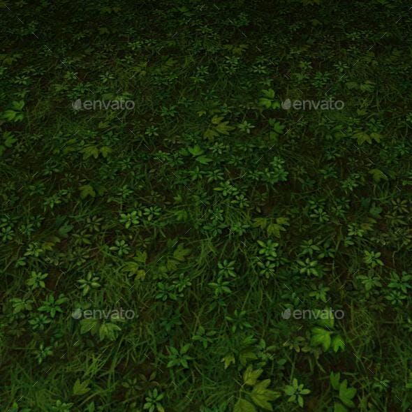 ground grass tile 11 - 3DOcean Item for Sale