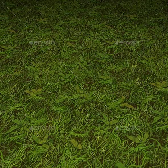 ground grass tile 16 - 3DOcean Item for Sale