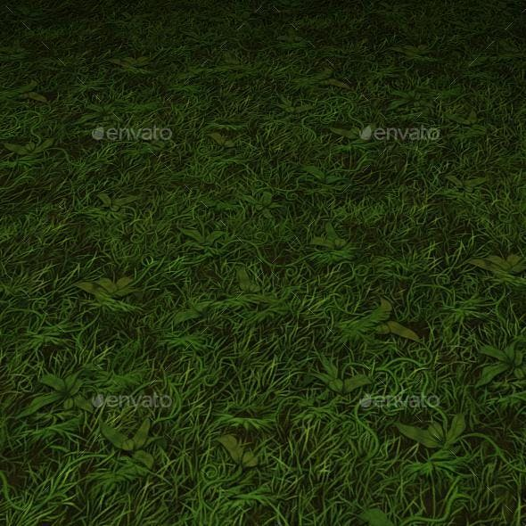 ground grass tile 17