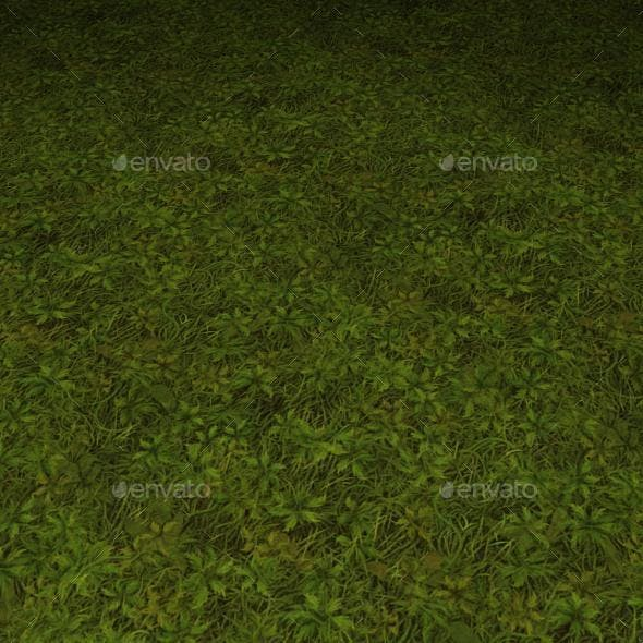 ground grass tile 18