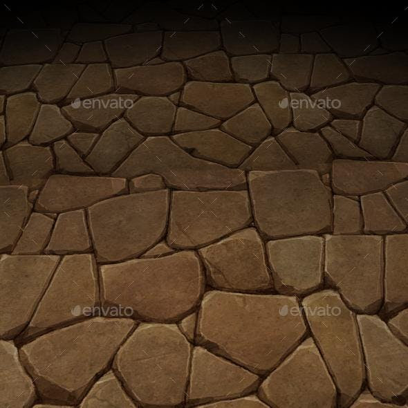 ground stone tile 3 - 3DOcean Item for Sale