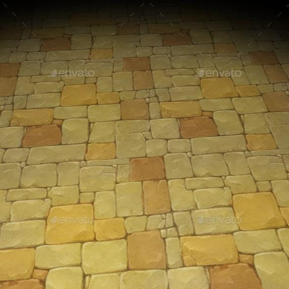 ground stone tile 4 - 3DOcean Item for Sale