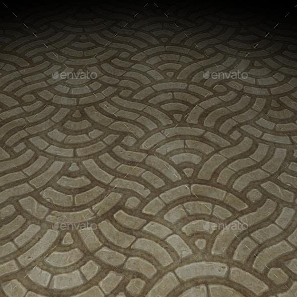 ground stone tile 7 - 3DOcean Item for Sale