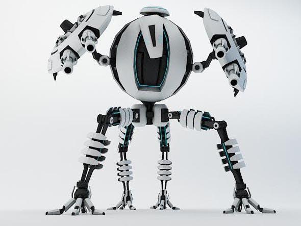 Robot TP65 - 3DOcean Item for Sale