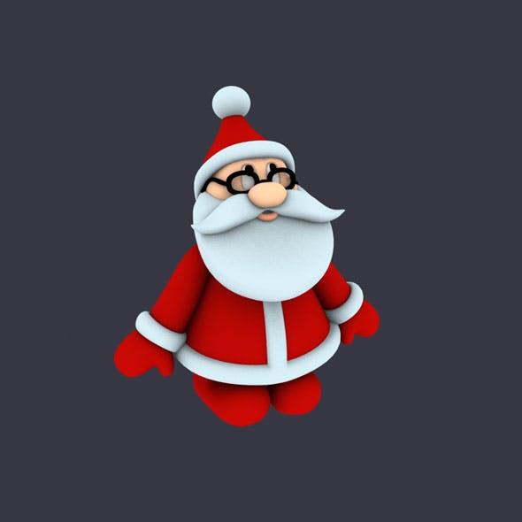 Funny Santa Pose 1