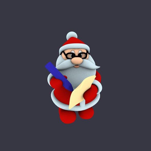 funny santa pose 3