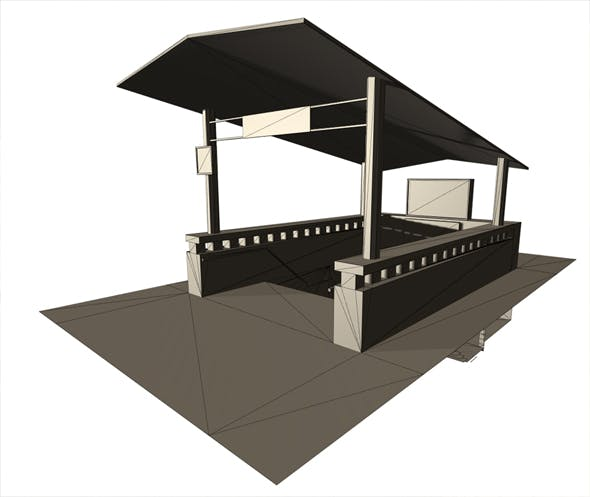 Subway metro station - 3DOcean Item for Sale