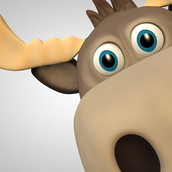 moose cartoon character