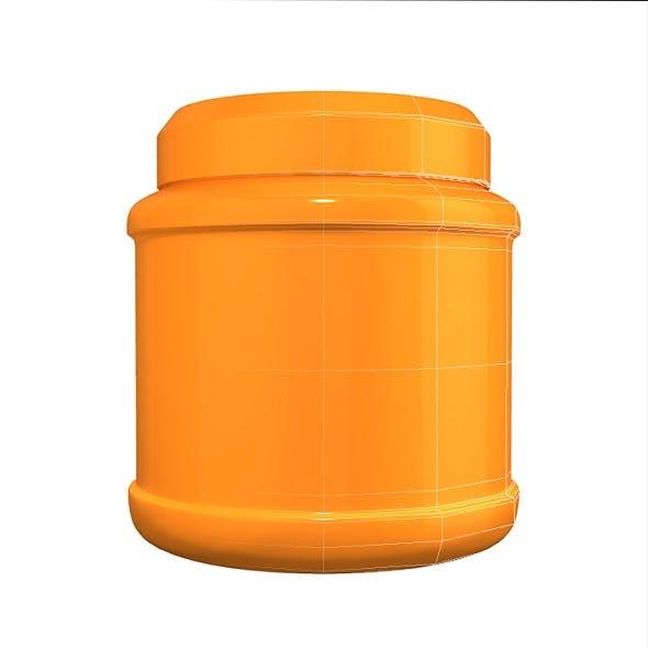 Orange Treatment Jar