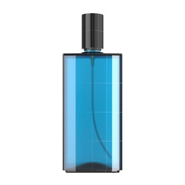 Blue Glass Spray Bottle - 3DOcean Item for Sale