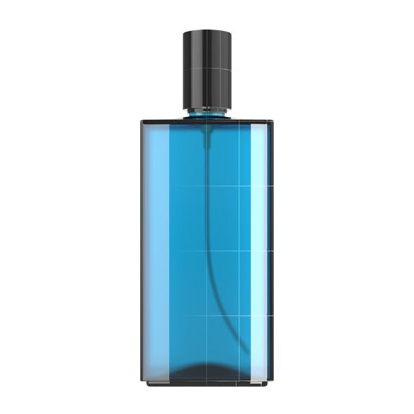 Blue Glass Spray Bottle