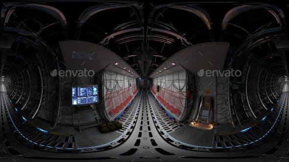 Cargo Airplane Interior HRDi 01 - 3DOcean Item for Sale