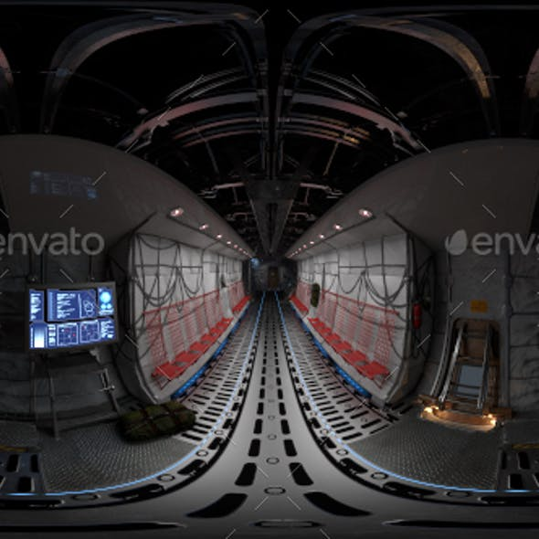 Cargo Airplane Interior HRDi 01