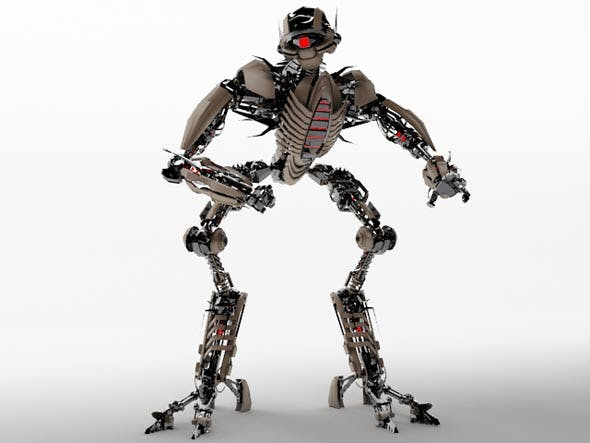 Robot TR2102 - 3DOcean Item for Sale