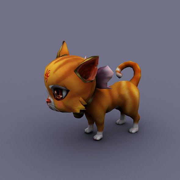 cat orange - 3DOcean Item for Sale