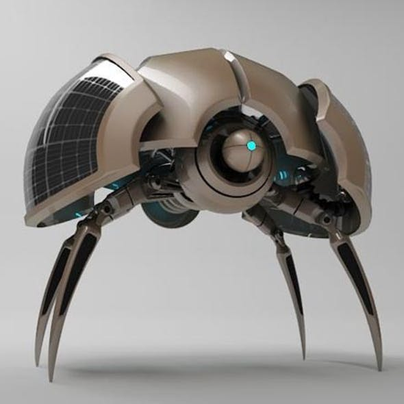 3D Model Robot ZLO200