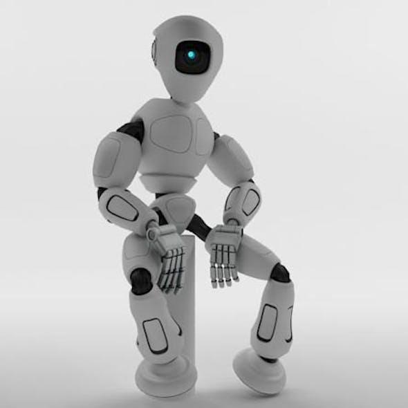 3D Model Robot RM100
