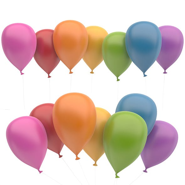 Ballons - 3DOcean Item for Sale