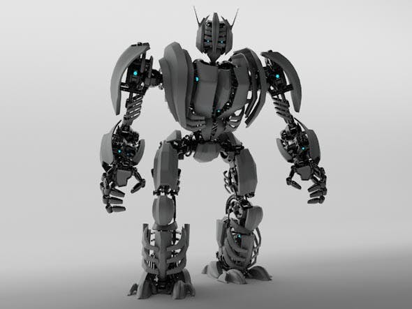 3D Model Robot ZEG3000 - 3DOcean Item for Sale