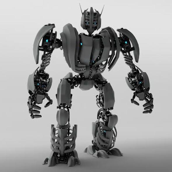 3D Model Robot ZEG3000
