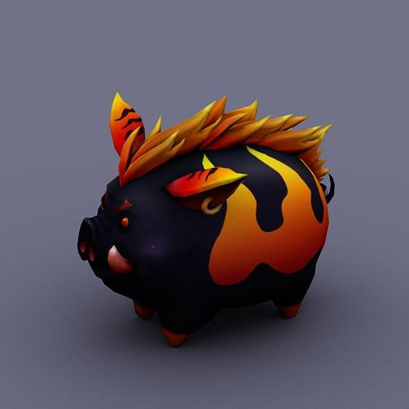 funny boar evil