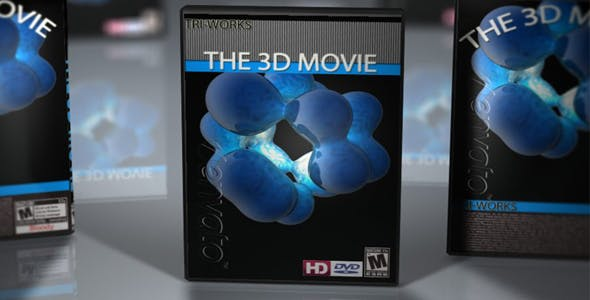 DVD Cases with DOF - 3DOcean Item for Sale