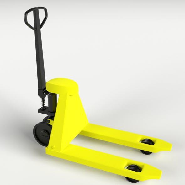 Pallet Jack, Skid Lifter - 3DOcean Item for Sale