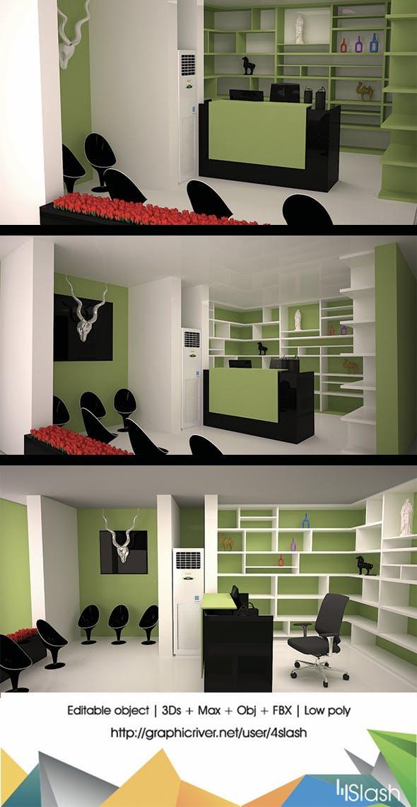 3d Shop Interior Design by 4slash | 3DOcean