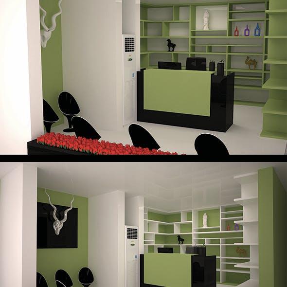 3d Shop Interior Design