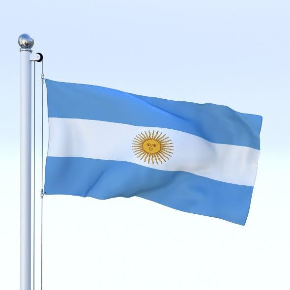 Animated Argentina Flag