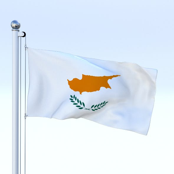 Animated Cyprus Flag