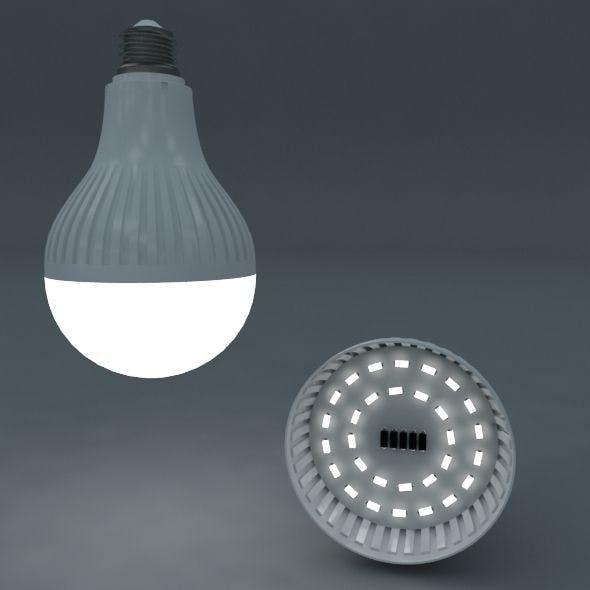 led bulb - 3DOcean Item for Sale